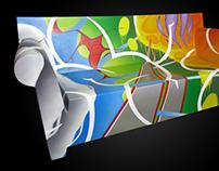 GRAFFITISM :: Sofa :: BARCELONA