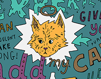 ADD MY CAT – Typographic Doodle + Process