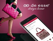 """Online store """"De esse"""" / Design house"""