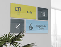 "WAYFINDING SOLUTION ""NUEVA CIENCIA UNIVERSIDAD"""