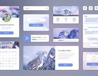 Travel UI kit FREE