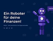 iRobot - Marken Maskottchen Konzept