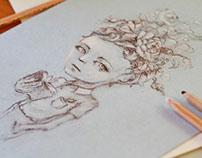 The Girl (illustration)