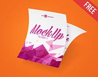 3 Free Flyer Mock-ups in PSD