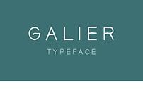 Galier typeface