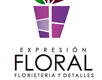 """Expresion Floral"" (Branding)"