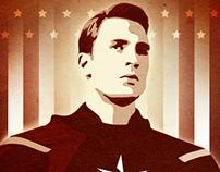 Captain America - Campaign Poster