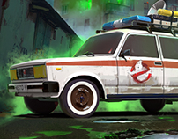 Russian GhostBusters!