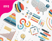 Infographic Elements Bundle (3 in 1)