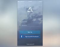 Log in app
