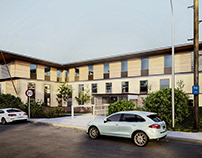 3D External shot with 3ds Max, V-Ray & PP