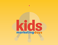 Brand identity for Kids Marketing Days event