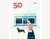 Stamp : Cities