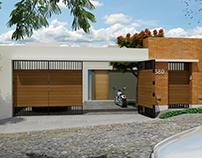 Casa Sin Escaleras 3D.