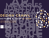 2016 AIGA Design Crawl, animated promo's and recap