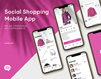 ShopChat | UI/UX for Social Shopping App
