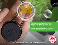 Marijuana Venture Magazine Ads 2018 for Kush Bottles