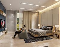 Modern Bedroom #2