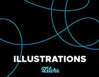 Zilore Illustrations