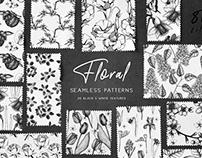 FREE Floral Seamless Pattern