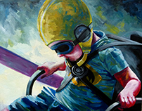 Inga Batatunashvili Painting