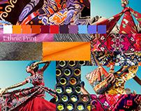 Textiles Design: Textured Prints