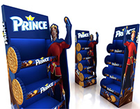 Prince LU Display Gondola / Display Stand