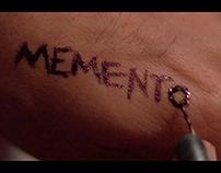Memento(2000) Title Sequence Design
