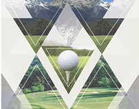 Bearspaw Golf Country Club Brochure Redesign