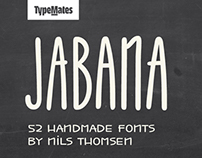 Jabana - Super Family for coffee & tea (52 fonts)