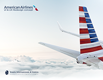 American Airlines Redesign Concept // UI & UX Project