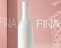 FINA ROSÉ - WINE BRAND CONCEPT