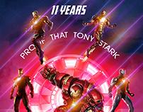 iron man 11 years