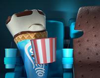 Pingüino - Helados en el Cine