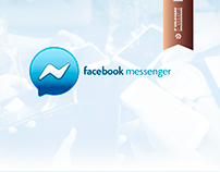 Logotipo 3D - Facebook Messenger