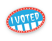 'I Voted' Sticker Redesign