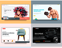 Web design 2018 - Dribbble short