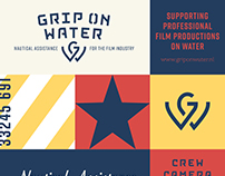 Corporate identity Grip on Water