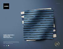 Fabric Swatches Mockup Set 2