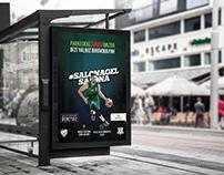 Bursaspor Basketbol Afiş l Poster Design