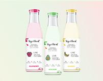 Дизайн для упаковки йогурта/ Design for yogurt