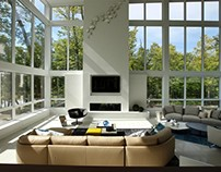 Edge of Modernism by DKOR Interiors