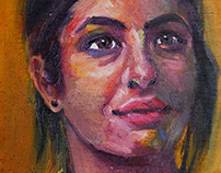 Portrait of Alanna Masterson as 'Tara Chambler'