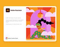 Adobe Illustrator Splash Screen 2021