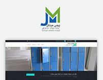 Jopymetal web design UI/UX