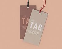 Label Tag Mockup Scene Creator