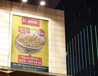 Tiamo Vinyl Banner Hanging