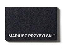 MARIUSZ PRZYBYLSKI rebranding