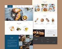 Landing page - Bakery shop