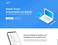 Work from Anywhere on Earth Landing Page